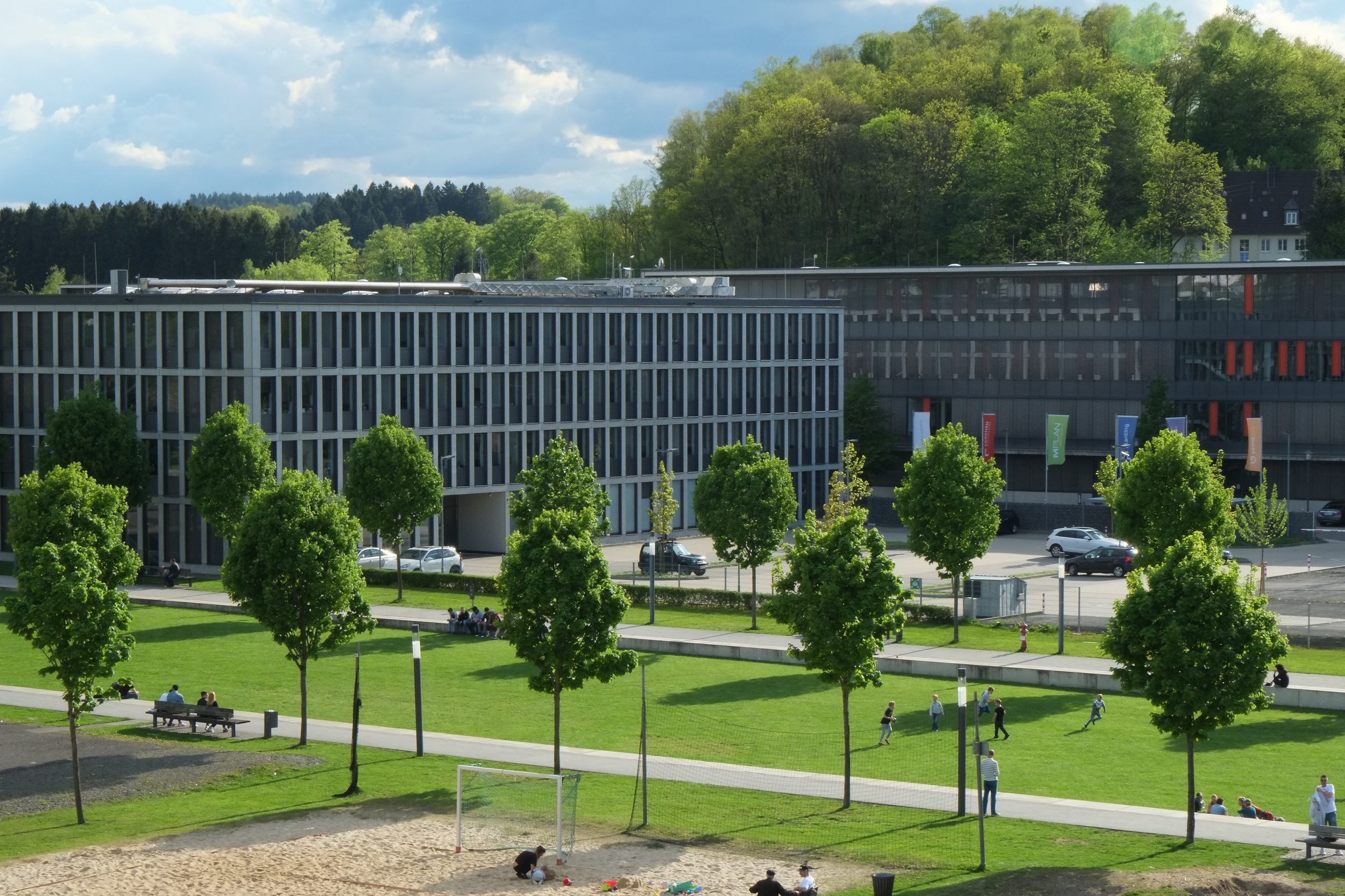 Stadtgarten, ABLE-Group/Ferchau und TH Köln, Campus Gummersbach